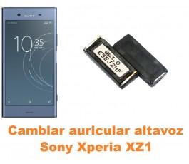 Cambiar auricular altavoz Sony Xperia XZ1