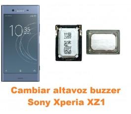 Cambiar altavoz buzzer Sony Xperia XZ1