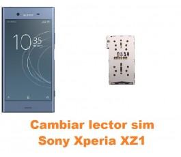 Cambiar lector sim Sony Xperia XZ1