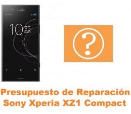 Presupuesto de reparación Sony Xperia XZ1 Compact