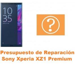Presupuesto de reparación Sony Xperia XZ1 Premium