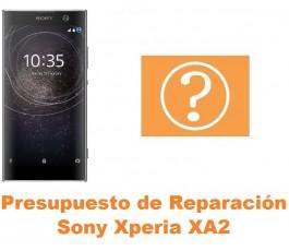 Presupuesto de reparación Sony Xperia XA2