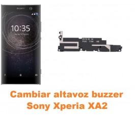 Cambiar altavoz buzzer Sony Xperia XA2