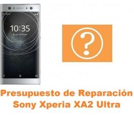 Presupuesto de reparación Sony Xperia XA2 Ultra