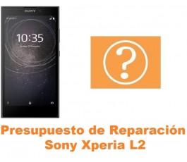 Presupuesto de reparación Sony Xperia L2