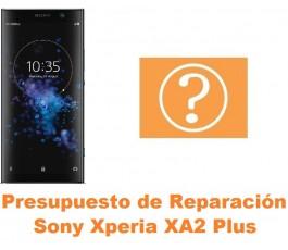 Presupuesto de reparación Sony Xperia XA2 Plus