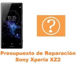 Presupuesto de reparación Sony Xperia XZ2