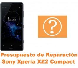 Presupuesto de reparación Sony Xperia XZ2 Compact