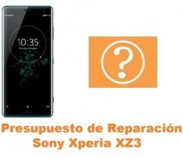 Presupuesto de reparación Sony Xperia XZ3