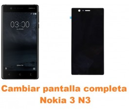 Cambiar pantalla completa Nokia 3 N3
