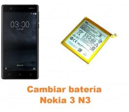 Cambiar batería Nokia 3 N3
