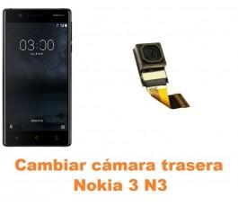 Cambiar cámara trasera Nokia 3 N3