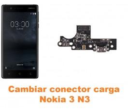 Cambiar conector carga Nokia 3 N3