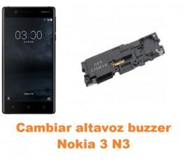 Cambiar altavoz buzzer Nokia 3 N3