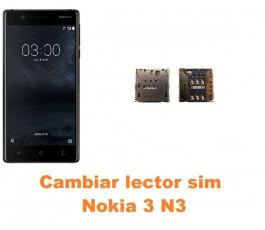 Cambiar lector sim Nokia 3 N3