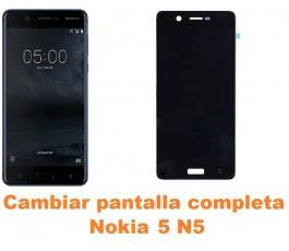 Cambiar pantalla completa Nokia 5 N5