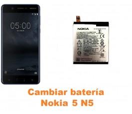 Cambiar batería Nokia 5 N5