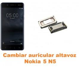 Cambiar auricular altavoz Nokia 5 N5
