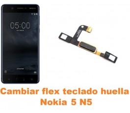 Cambiar flex teclado home Nokia 5 N5