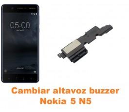 Cambiar altavoz buzzer Nokia 5 N5