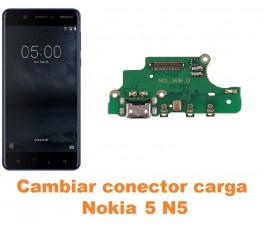 Cambiar conector carga Nokia 5 N5