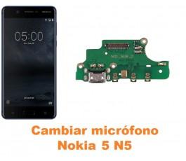 Cambiar micrófono Nokia 5 N5