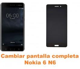 Cambiar pantalla completa Nokia 6 N6