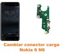 Cambiar conector carga Nokia 6 N6