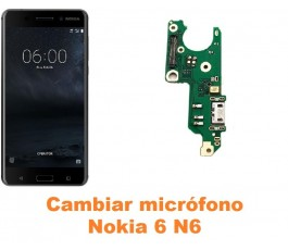 Cambiar micrófono Nokia 6 N6