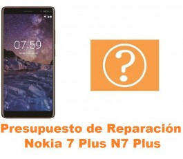 Presupuesto de reparación Nokia 7 Plus N7 Plus