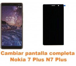 Cambiar pantalla completa Nokia 7 Plus N7 Plus