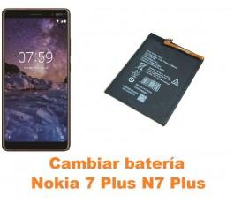 Cambiar batería Nokia 7 Plus N7 Plus