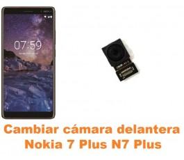 Cambiar cámara delantera Nokia 7 Plus N7 Plus