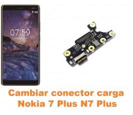Cambiar conector carga Nokia 7 Plus N7 Plus