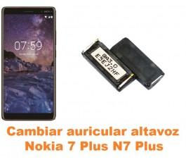 Cambiar auricular altavoz Nokia 7 Plus N7 Plus