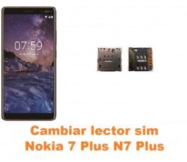 Cambiar lector sim Nokia 7 Plus N7 Plus