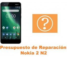 Presupuesto de reparación Nokia 2 N2