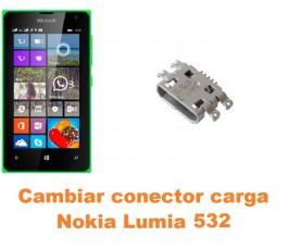 Cambiar conector carga Nokia Lumia 532