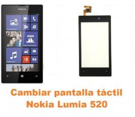 Cambiar Pantalla Tactil (cristal) Nokia Lumia 520 - Imagen 1