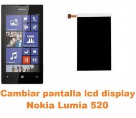 Cambiar Pantalla LCD (display) Nokia Lumia 520 - Imagen 1