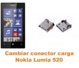 Cambiar conector carga Nokia Lumia 520