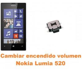 Cambiar encendido y volumen Nokia Lumia 520
