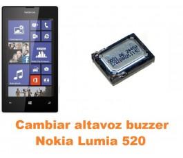 Cambiar altavoz buzzer Nokia Lumia 520