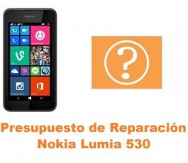 Presupuesto de reparación Nokia Lumia 530