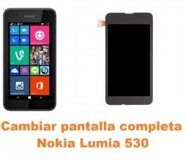 Cambiar pantalla completa Nokia Lumia 530