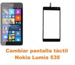 Cambiar pantalla táctil cristal Nokia Lumia 535