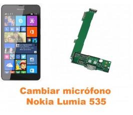 Cambiar micrófono Nokia Lumia 535