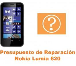 Presupuesto de reparación Nokia Lumia 620
