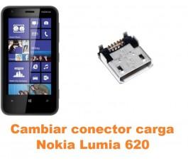 Cambiar conector carga Nokia Lumia 620
