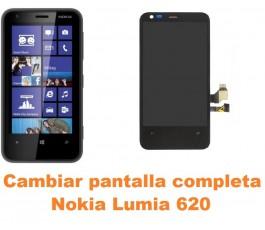 Cambiar pantalla completa Nokia Lumia 620